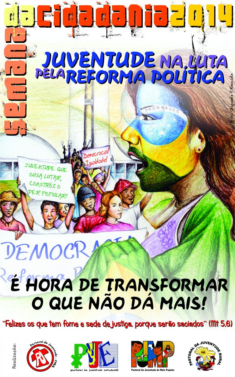 Pastorais da Juventude debatem reforma política na Semana da Cidadania 2014