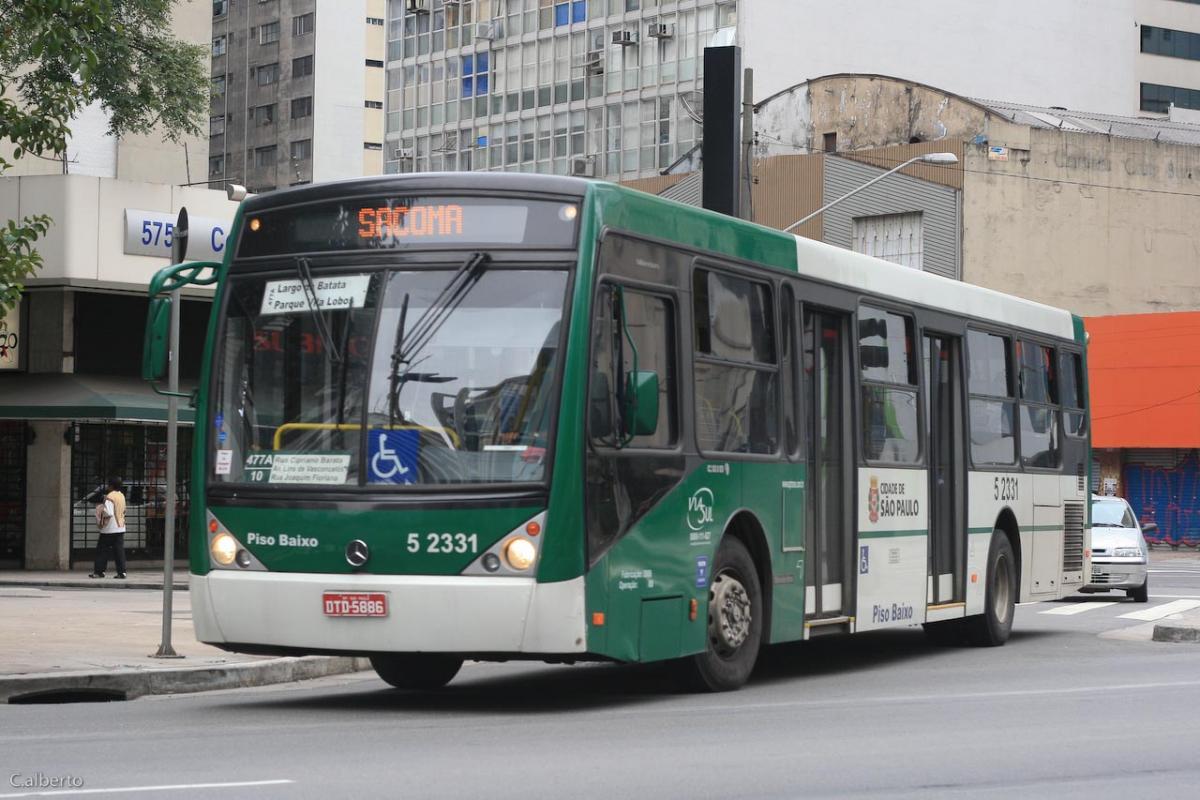 Frota de ônibus da cidade de São Paulo é a mais velha em 8 anos