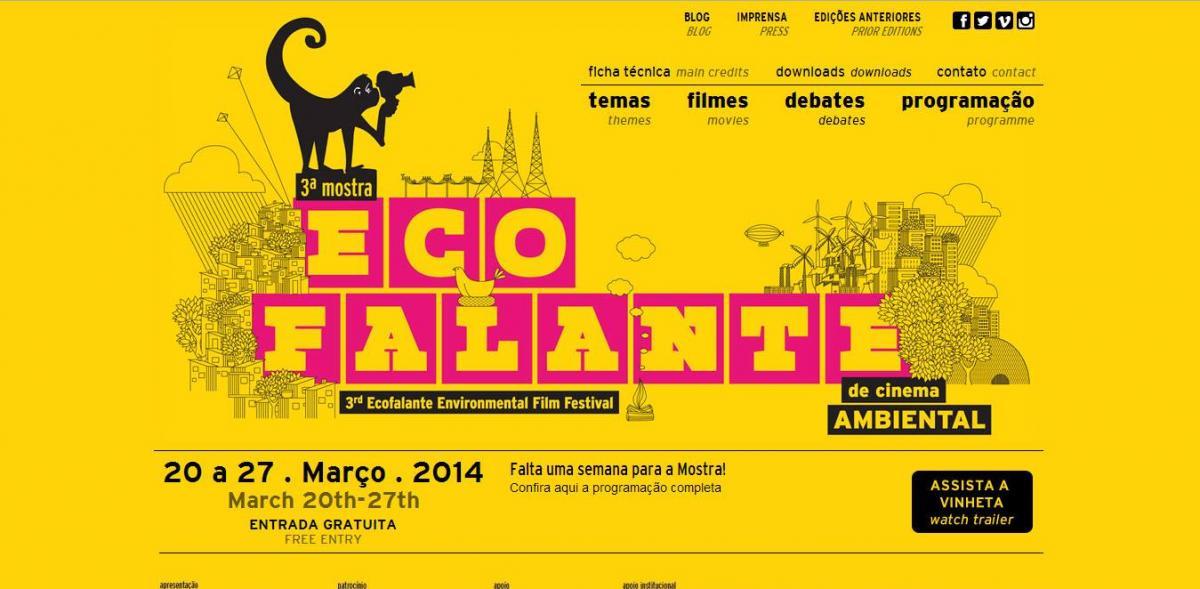 3ª Mostra Ecofalante de Cinema Ambiental vai até o dia 27/3. Prestigie!