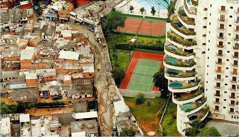 Brasil cairia 16 posições com cálculo de desigualdade social
