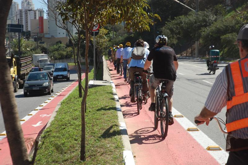 Rede Nossa São Paulo apoia petição a favor das ciclovias