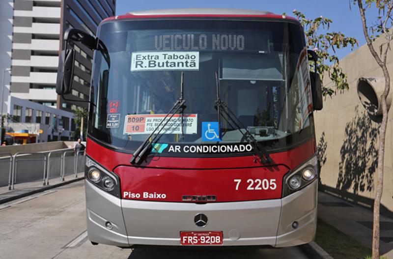Com frota mais velha, SP ganha 20 ônibus hi-tech