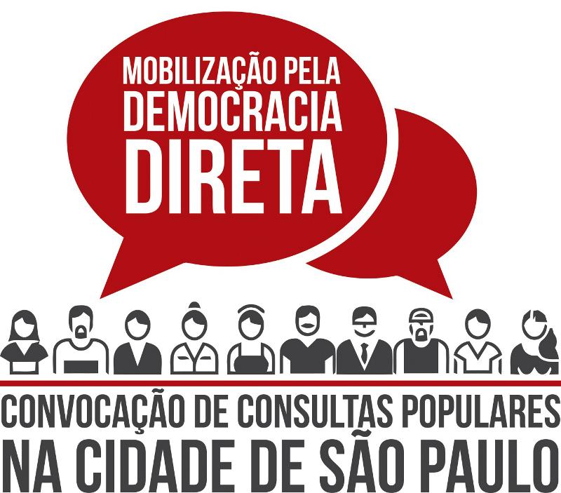 Mobilização pela Democracia Direta visa regulamentar as consultas populares na cidade