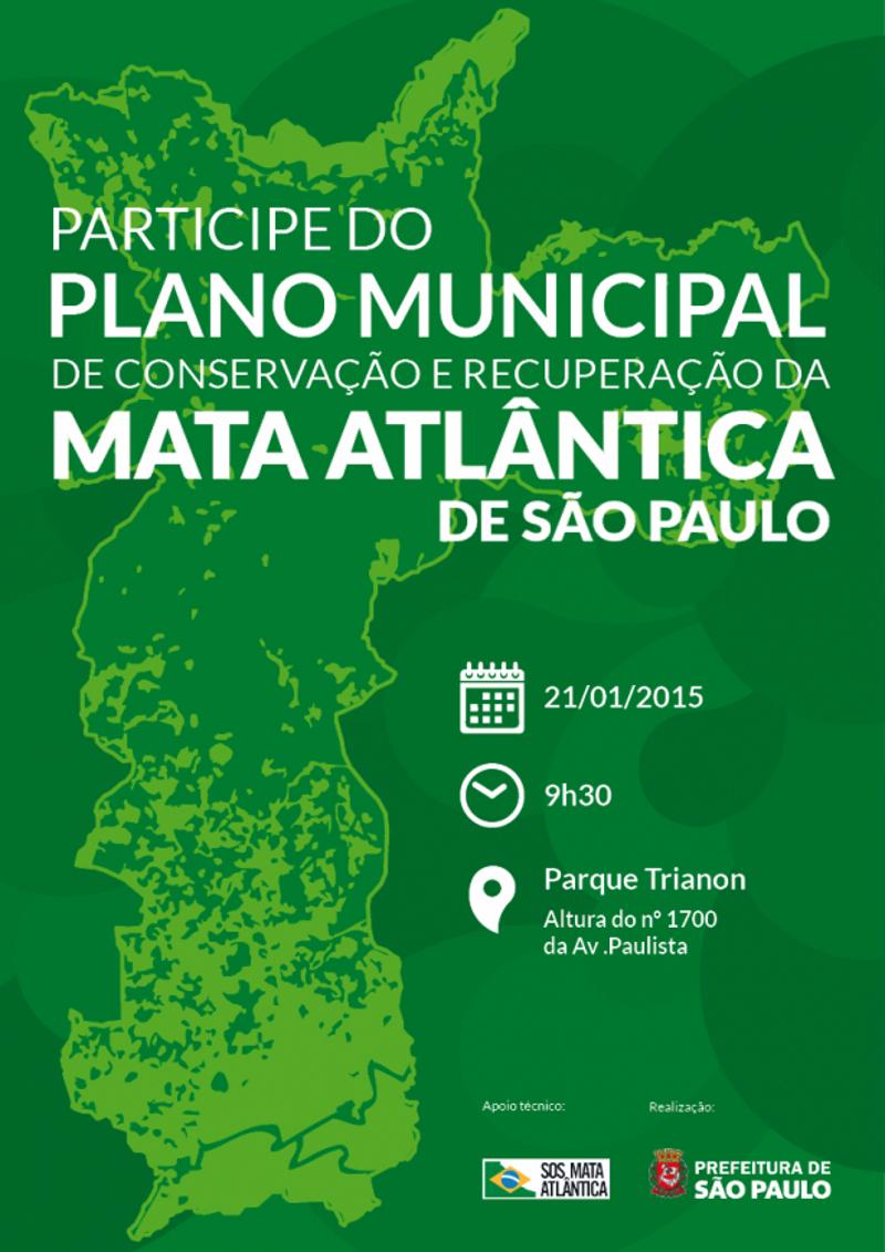 Fundação assina termo para criação do Plano de Mata Atlântica de São Paulo