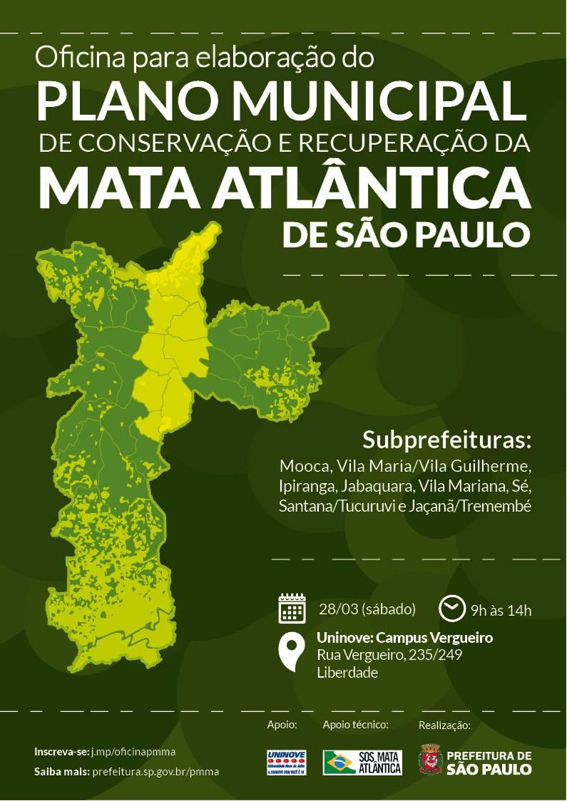 Oficina para elaboração do Plano Municipal de Mata Atlântica