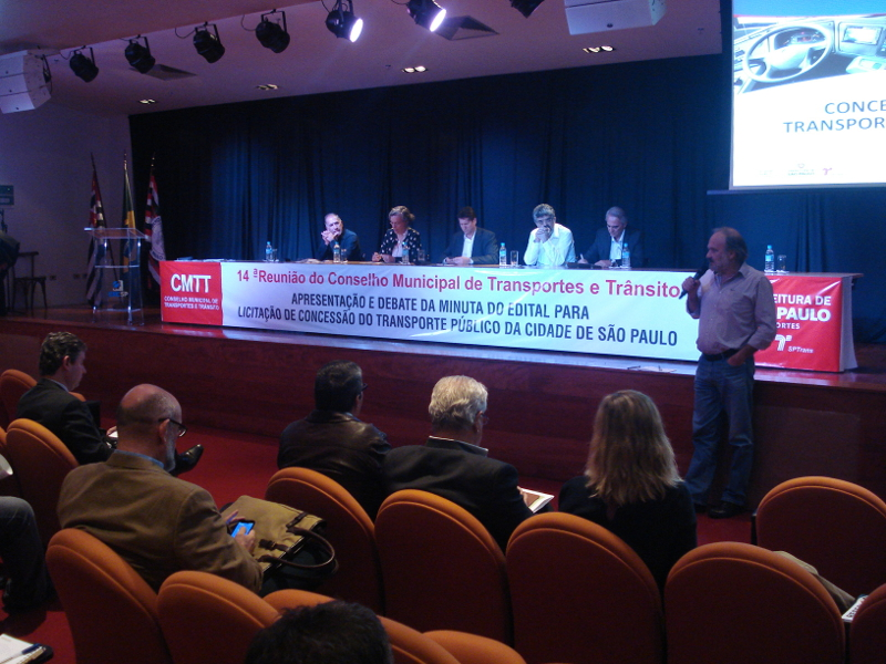 Reunião ampliada do Conselho Municipal de Transportes e Trânsito debate licitação dos ônibus