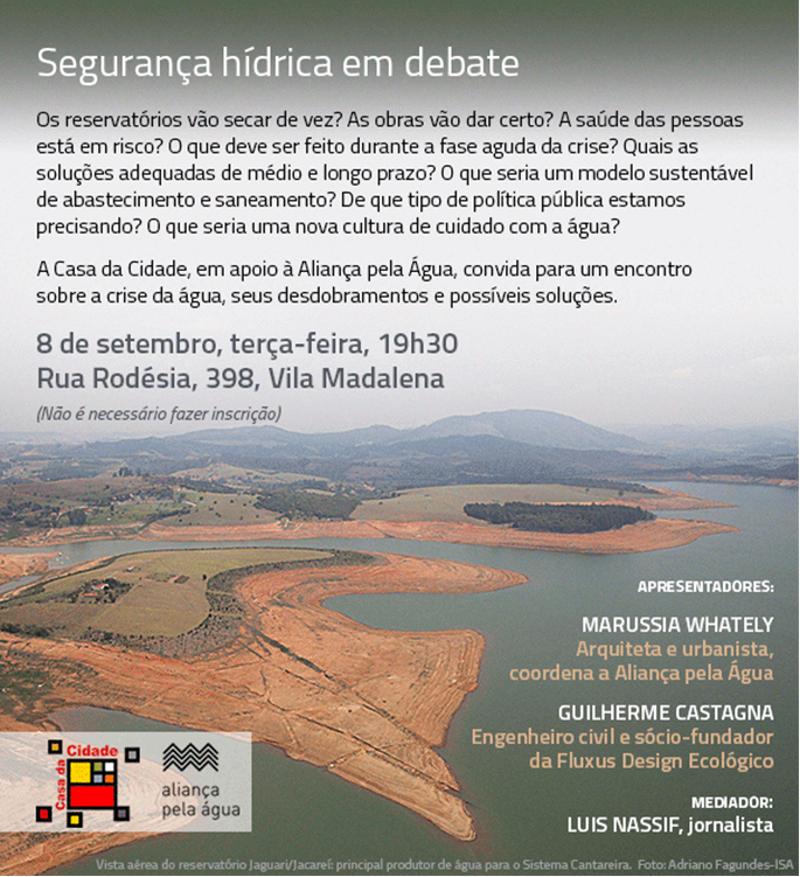 Segurança hídrica em debate