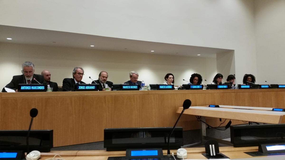 Programa Cidades Sustentáveis é apresentado em evento do governo brasileiro na sede da ONU, em Nova Iorque
