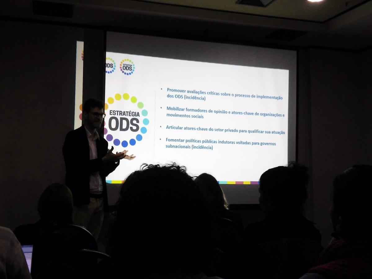Lançamento da Estratégia ODS reuniu jornalistas em São Paulo
