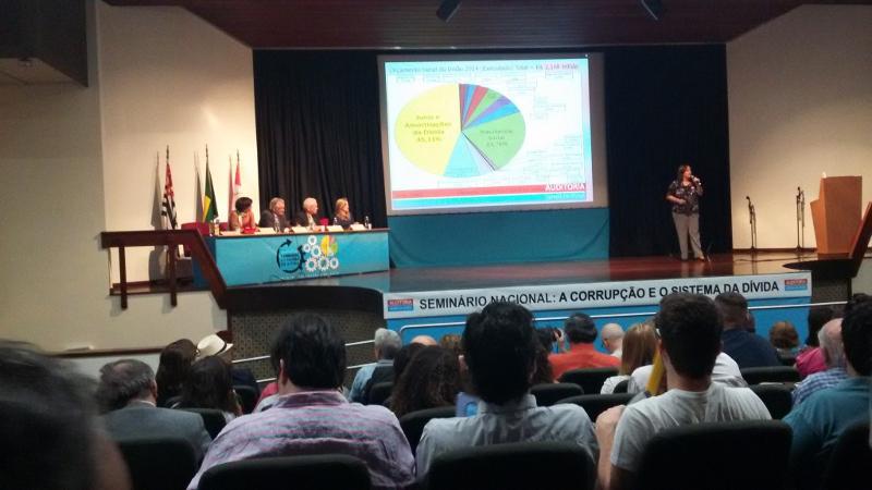 """Seminário Nacional """"A Corrupção e o Sistema da Dívida"""" reúne auditores cidadãos de todo o país"""