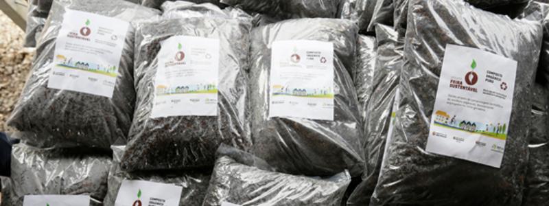 Prefeitura inaugura central de compostagem para reciclar resíduos das feiras livres
