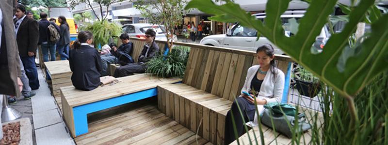 Na capital, 77 parklets fazem sucesso como minipraças