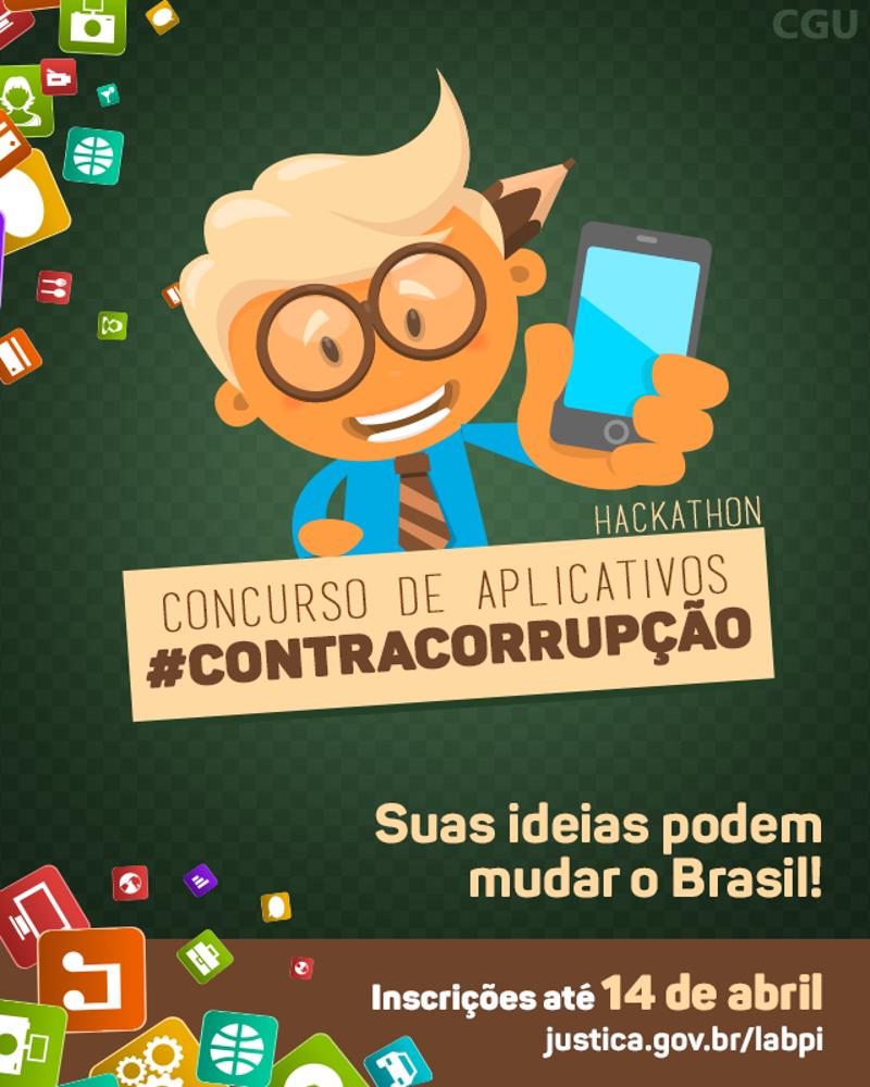 Últimos dias para inscrições em concurso de aplicativos destinados ao Combate à Corrupção