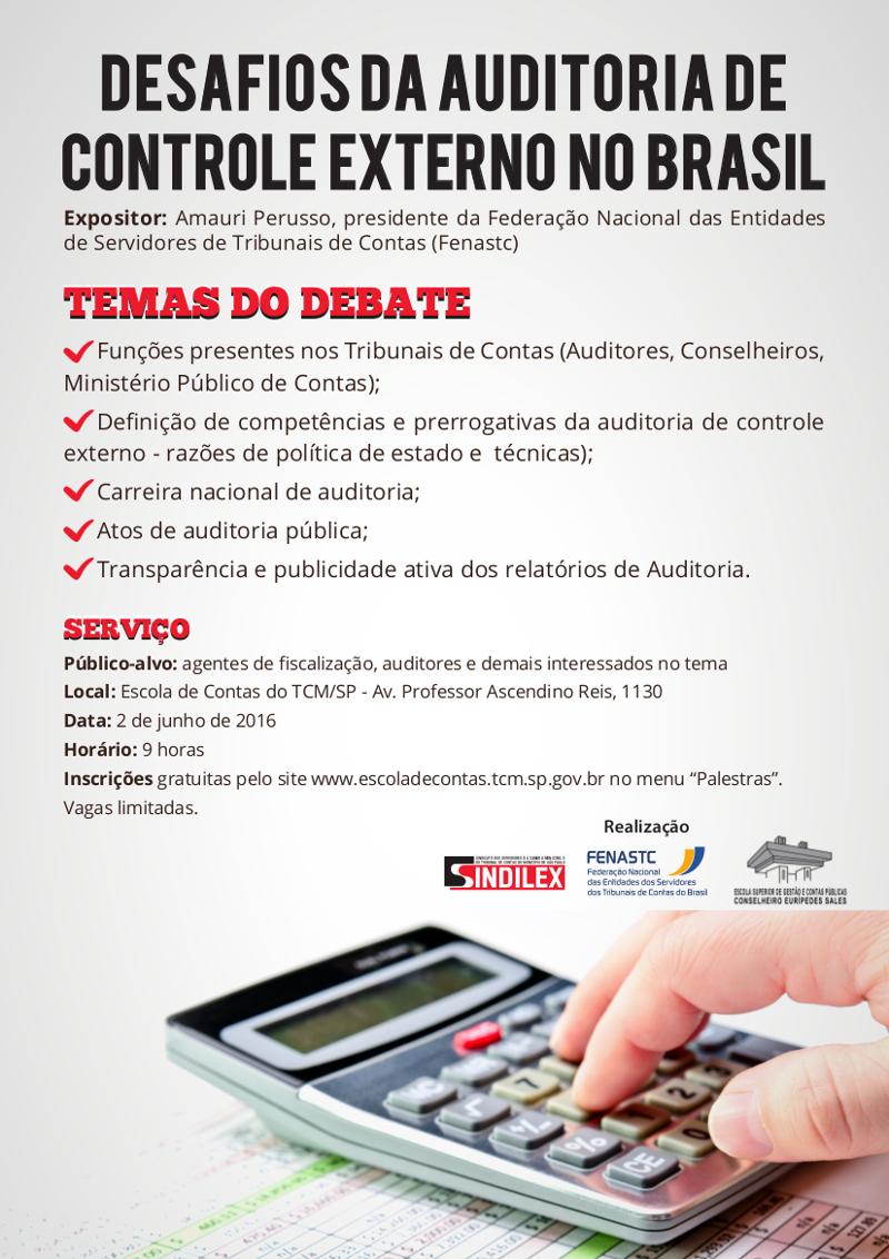 Debate: Desafios da auditoria de controle externo no Brasil