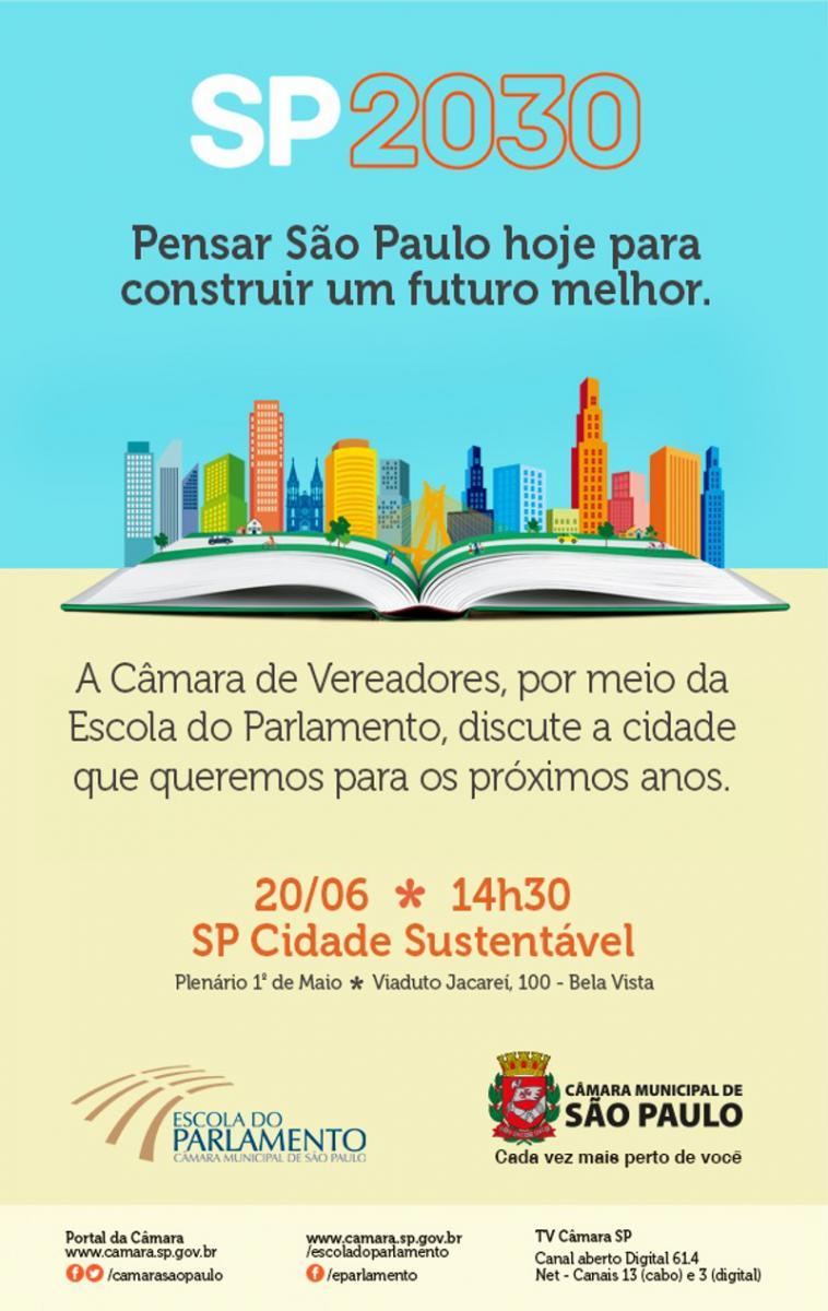 Escola do Parlamento abre inscrições para seminário SP Sustentável