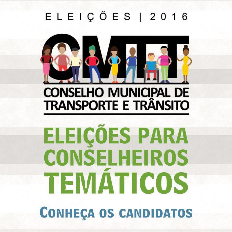 Eleições dos conselheiros temáticos para o Conselho de Transportes e Trânsito acontecem neste sábado