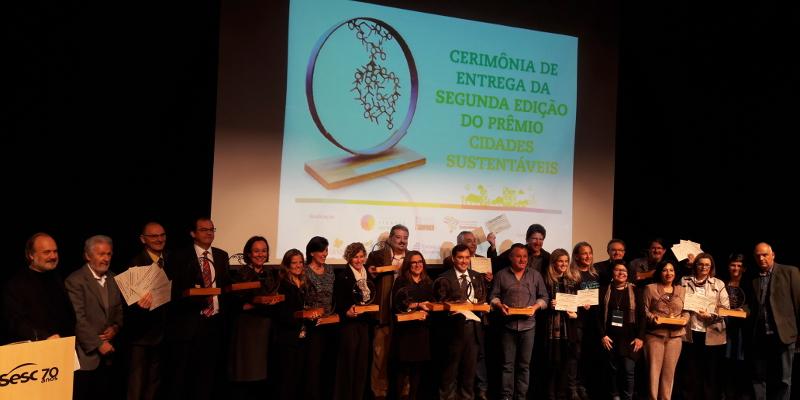 Municípios com políticas públicas bem-sucedidas recebem Prêmio Cidades Sustentáveis