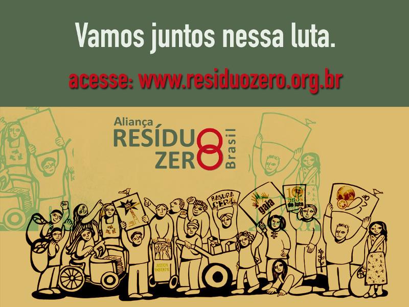 Convite para o 4º Encontro do Ciclo de Diálogos Resíduo Zero