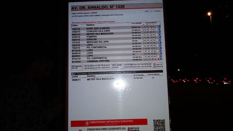 Especial: informações nos pontos de ônibus são raridade em algumas regiões