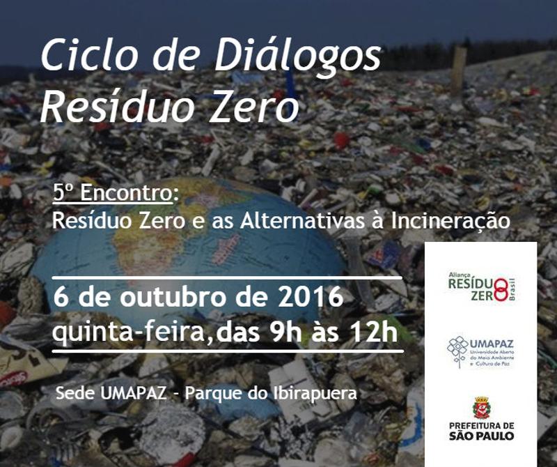 5º Encontro do Ciclo de Diálogos Resíduo Zero