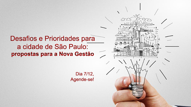 Mais de 70 organizações promovem evento para entregar propostas à gestão de Doria