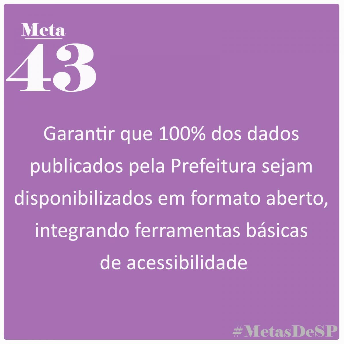 #MetasDeSP: Open Knowledge Brasil pede 100% das informações públicas de São Paulo em formatos abertos