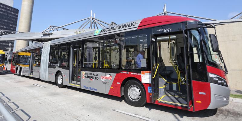 SP já gastou 94% do que previa para os ônibus