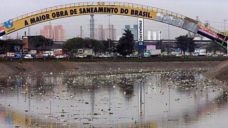 Campanha quer que Sabesp pare de jogar esgoto nos rios e córregos de São Paulo