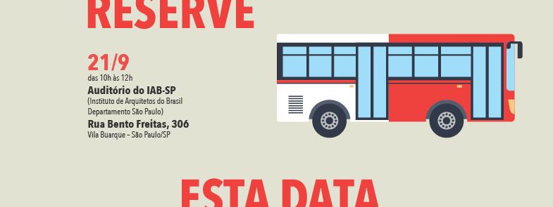 Rede Nossa São Paulo e Cidade dos Sonhos promovem debate sobre mobilidade urbana