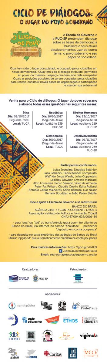 Ciclo de Diálogos: O Lugar do Povo Soberano