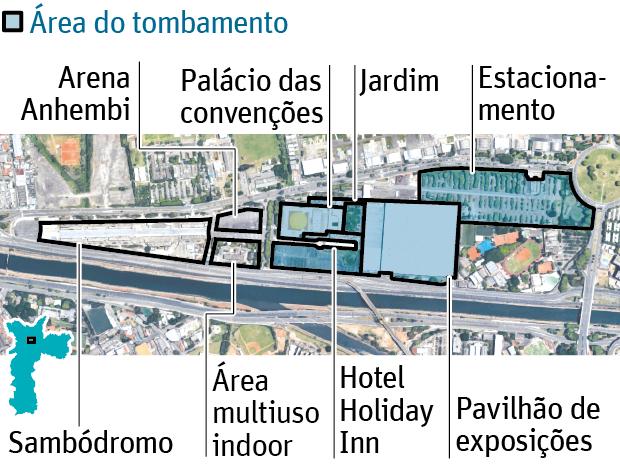 Tombamento do Anhembi ameaça projeto de privatização de Doria