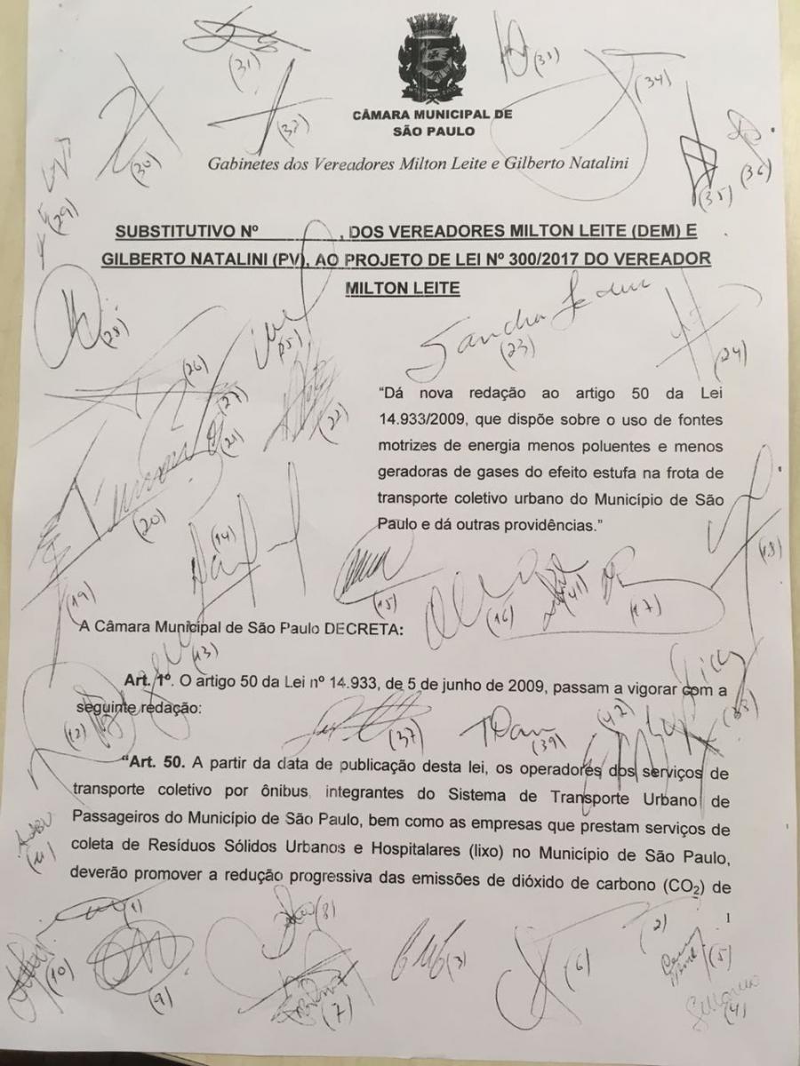 Projeto que prevê fim de emissão de poluente por ônibus e volta da inspeção veicular vai a votação em SP