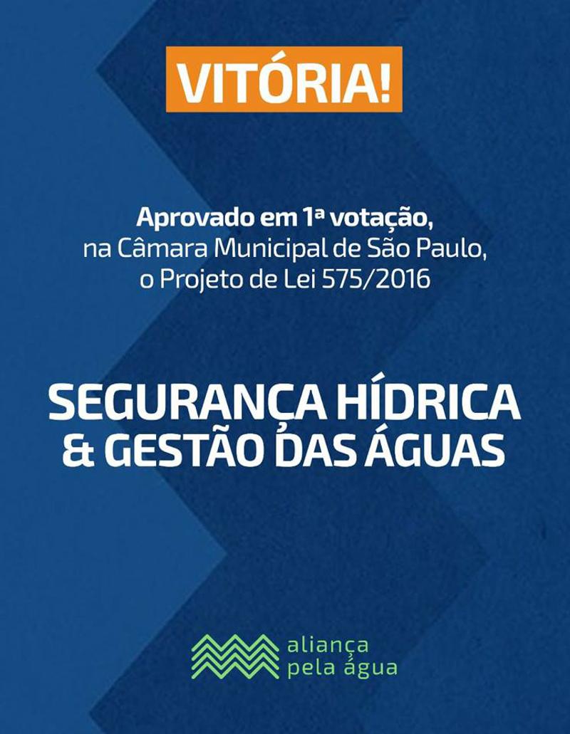 São Paulo avança na construção de segurança hídrica municipal