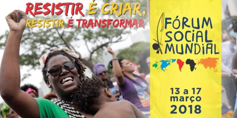 Fórum Social Mundial 2018 reunirá mais de 60 mil pessoas em Salvador