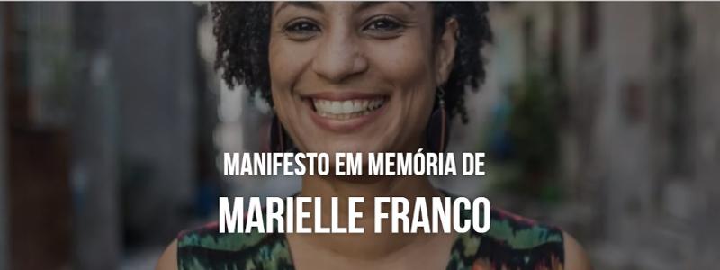 Campanha Um Novo Congresso é Possível assina Manifesto em memória de Marielle Franco