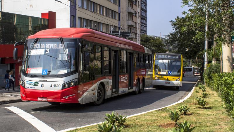 PL que traz avanços à licitação de ônibus de SP está ameaçado