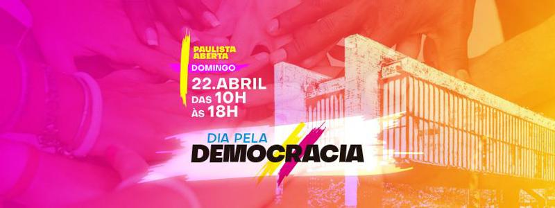 Rede Nossa São Paulo e campanha Um novo Congresso participam do Dia pela Democracia