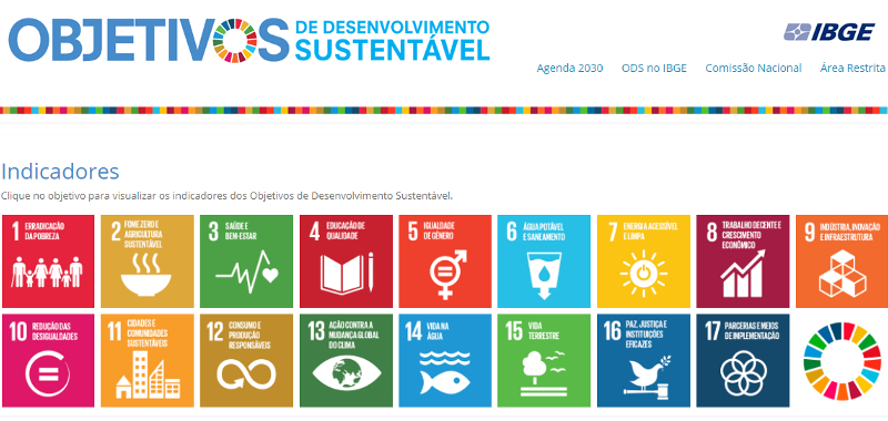 Nova plataforma digital permite acompanhar indicadores da Agenda 2030
