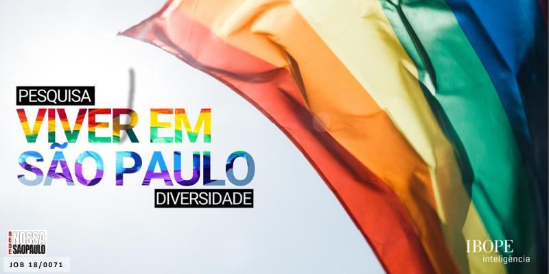 51% dos paulistanos já vivenciaram ou presenciaram situações de preconceito contra LGBT+