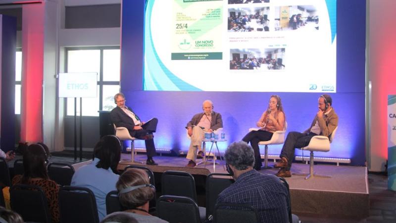 Relevância do congresso nacional é debatida na Conferência Ethos 20 anos Rio de Janeiro