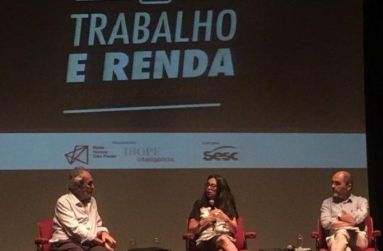 """Evento de lançamento da pesquisa """"Viver em São Paulo: Trabalho e Renda"""" destaca importância de uso dos dados para elaboração de políticas públicas"""
