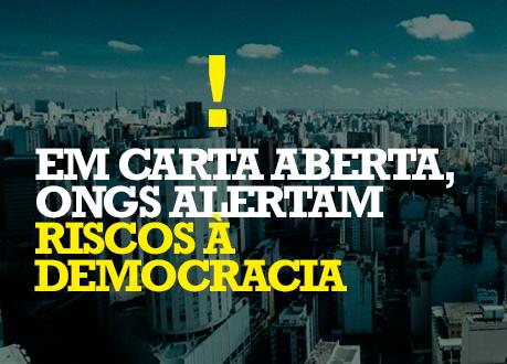 Organizações da sociedade civil questionam constitucionalidade de Medida Provisória