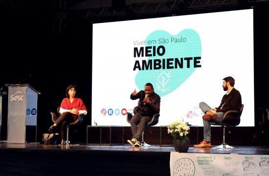 Evento reúne especialistas para debater o meio ambiente e a cidade