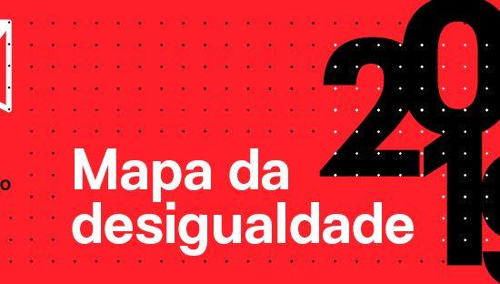 Mapa da Desigualdade 2019 é lançado em São Paulo