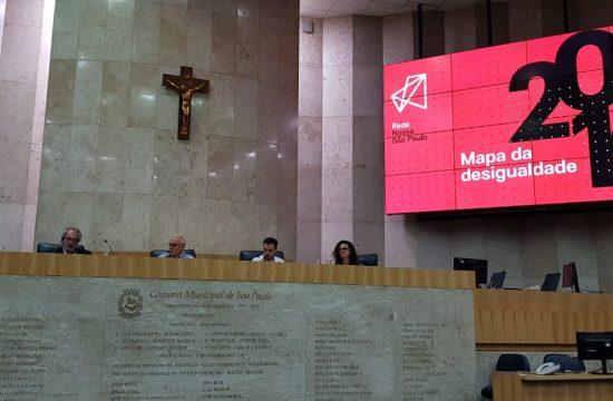 Mapa da Desigualdade 2019 é debatido em evento realizado na Câmara Municipal de São Paulo