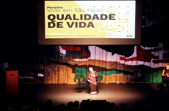 Pesquisa sobre qualidade de vida é lançada em evento com participação de Monja Coen