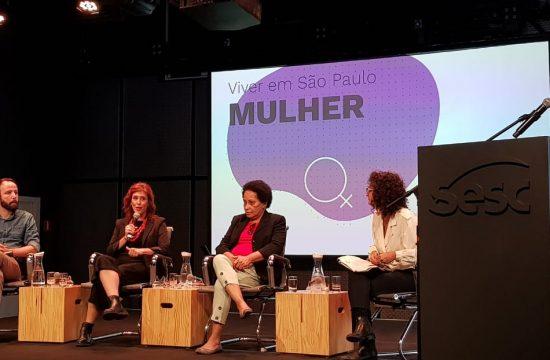 Sesc Avenida Paulista recebe lançamento de pesquisa Viver em São Paulo: Mulher