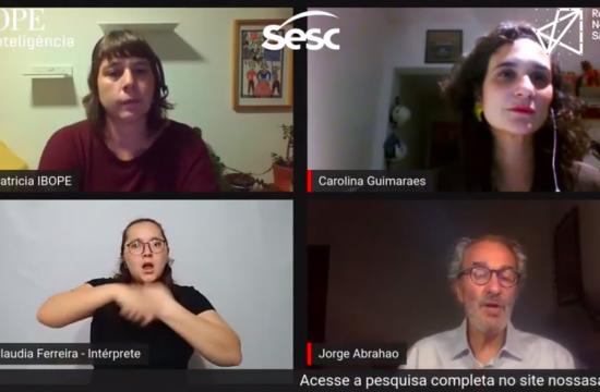 Em transmissão ao vivo, RNSP e Ibope refletem impacto da pandemia na vida dos paulistanos
