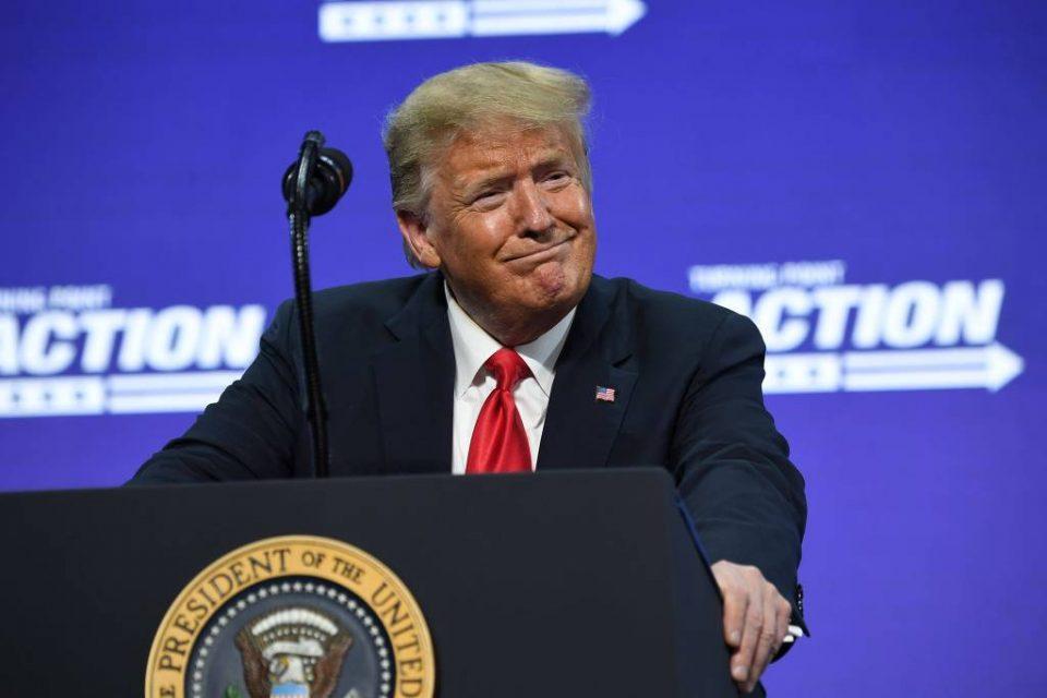 O presidente americano Donald Trump - Saul Loeb/AFP