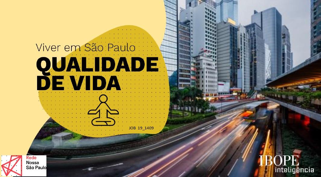 Para a maioria da população paulistana, a qualidade de vida piorou nos últimos 12 meses